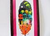 Imagen de Plumas de pavo pintadas a mano