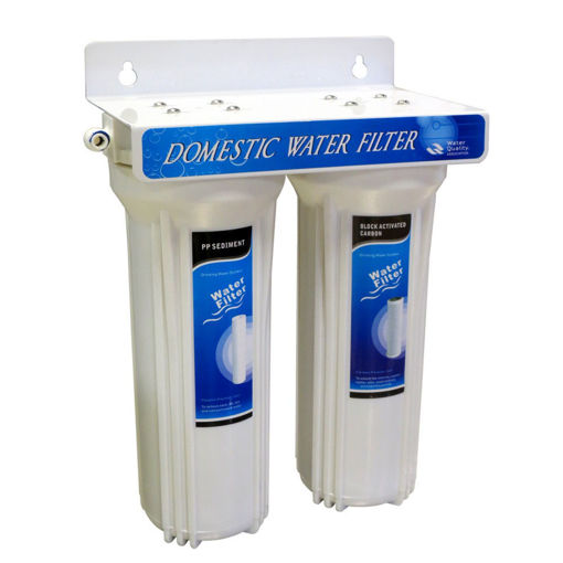 Imagen de Filtro para agua doble completo con llave
