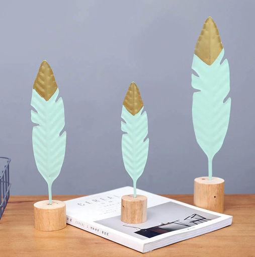 Imagen de Set de 3 plumas decorativas