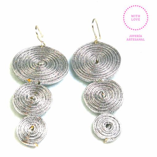 Imagen de Aretes  espirales