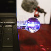 Imagen de USB 64 Gb estilo foco con luz led