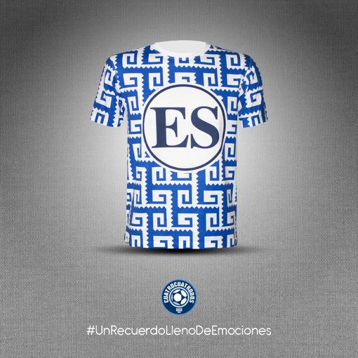 Imagen de Camisa El Salvador, 1997, (Versión aficionado).
