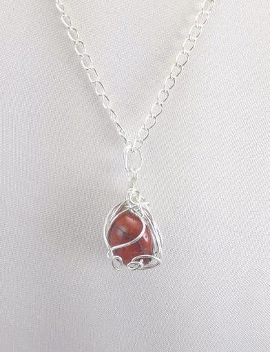 Imagen de Collar con piedra engarzada
