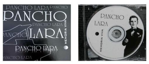 """Imagen de Disco Pancho Lara """"Memoria Viva"""""""