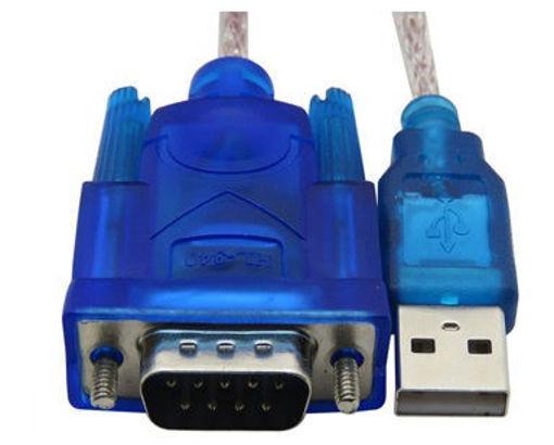 Imagen de Cable de RS232 DB9 de 9 pines a USB