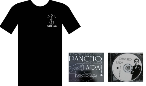 Imagen de Combo Disco Memoria Viva + Camiseta Pancho Lara
