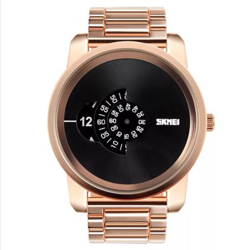 Imagen de ⌚️ Reloj moderno de acero para hombre
