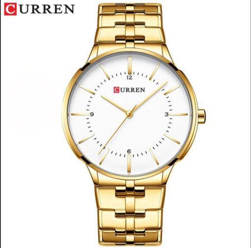 Imagen de Reloj dorado para hombre