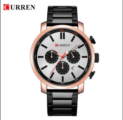 Imagen de ✅ Reloj para hombre con cronógrafos CURREN