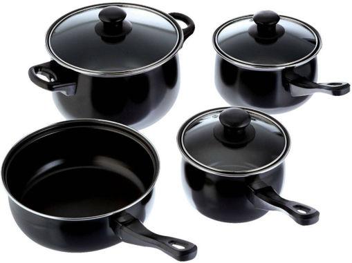 Batería de Cocina Negra de Teflón2