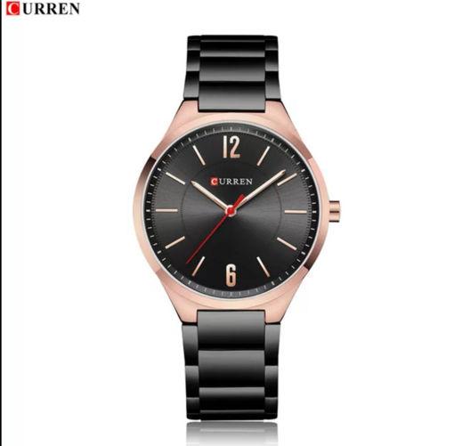 Imagen de Reloj de acero para caballero, marca CURREN