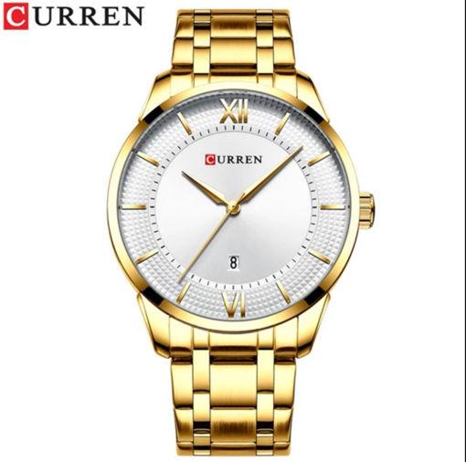 Imagen de Reloj acero para hombre marca CURREN
