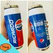 Imagen de Botella tipo lata térmica con pajilla