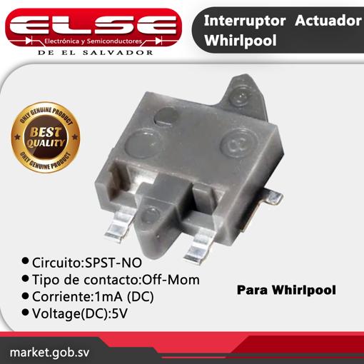 Interruptor de Actuador Whirlpool
