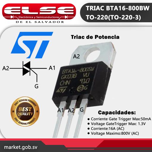 TRIAC BTA16-800BW