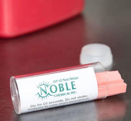 Imagen de Tiras para pruebas de Amonio Cuaternario, marca Noble