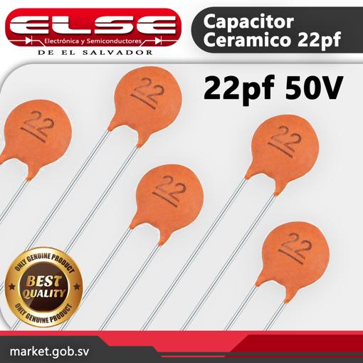 Capacitor Ceramico 22pf