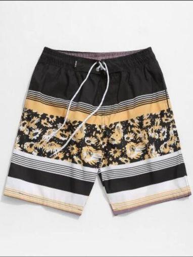 Imagen de Shorts de playa de rayas