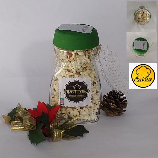Imagen de Popcorn gourmet sabor chile limón (Presentación Navideña)