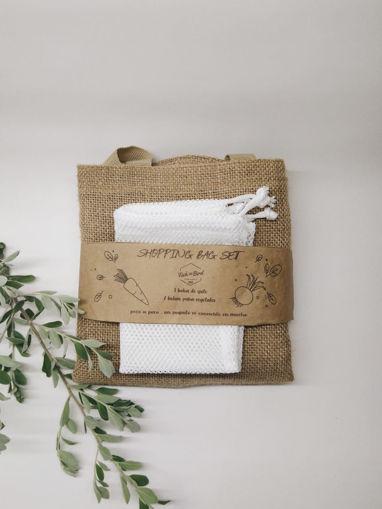 Imagen de Set de bolsas para compras