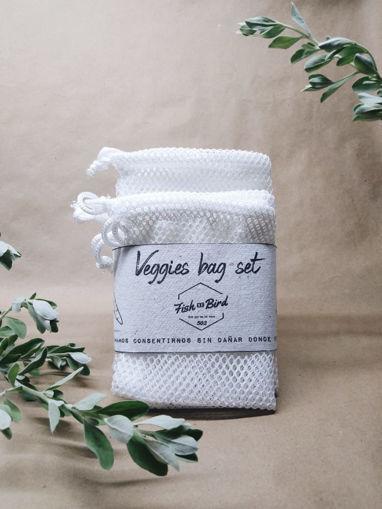 Imagen de Set de bolsas para verduras