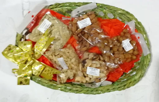 Imagen de Canasta con semillas sin licor