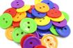 Imagen de Set de 100 botones surtidos.