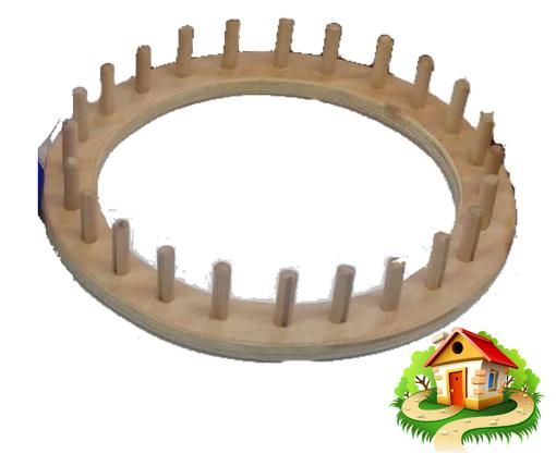 Imagen de Telar circular para tejer gorro.