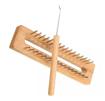 Imagen de Telar de madera rectangular.