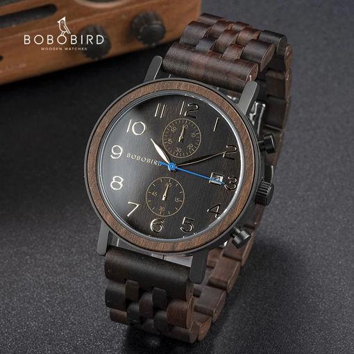 Imagen de Reloj de madera