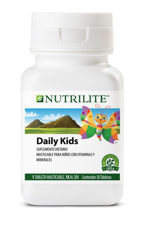 Imagen de Tabletas Masticables DAILY KIDS