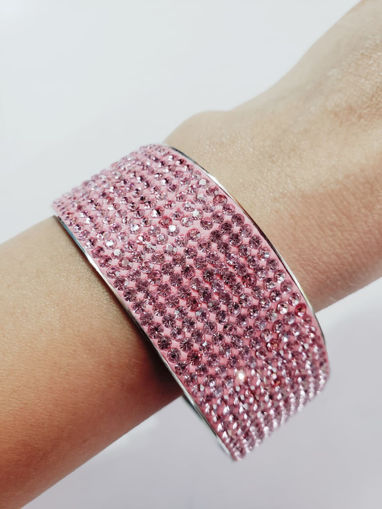 Imagen de Pusera rosa de acero inoxidable