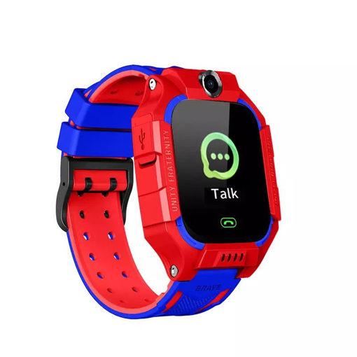 Imagen de Reloj rojo con Azul para niño Q19 Con Localización LBS