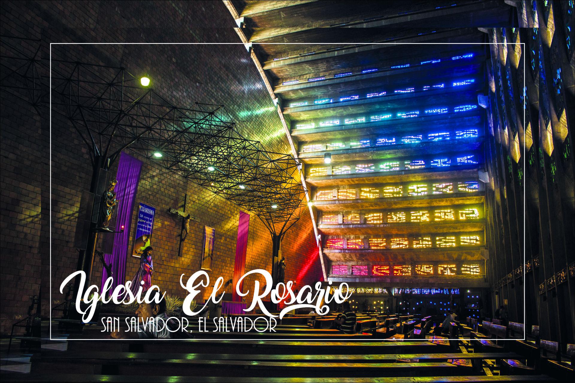 Magneto rectangular iglesia El Rosario, San Salvador