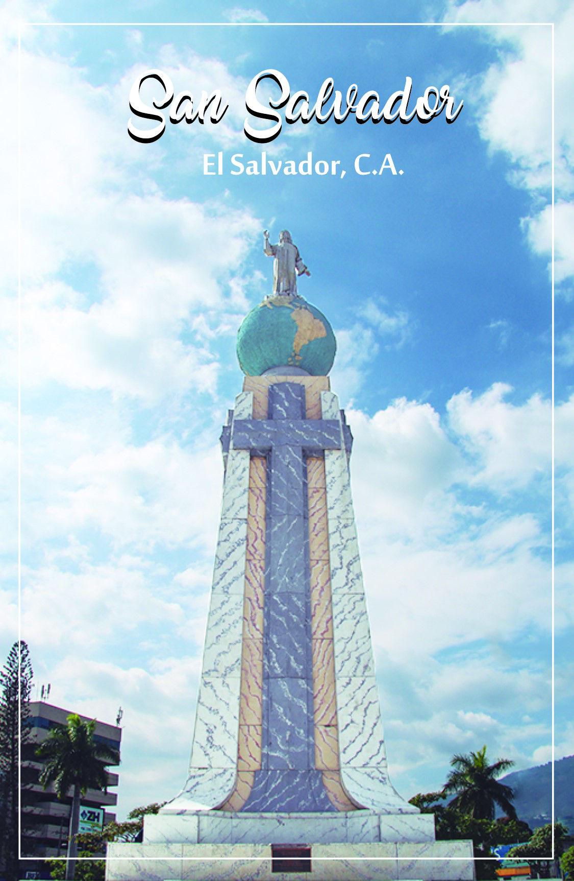 Magneto rectangular El Salvador del Mundo