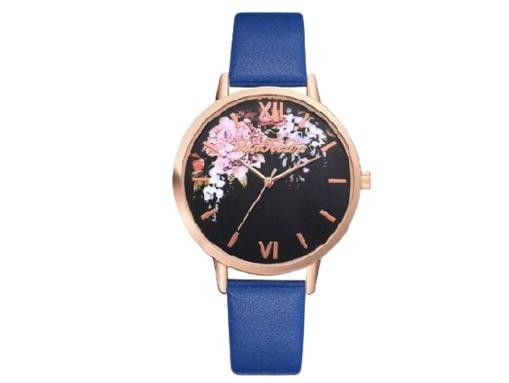 Imagen de Reloj femenino de pulsera diseño de rosas.