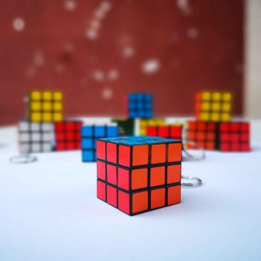 Imagen de Llavero cubo Rubik 3x3 juguete