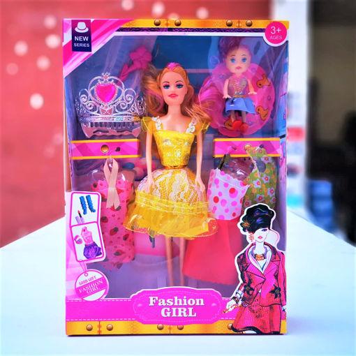Imagen de Muñecas Fashion Girl Set juguete