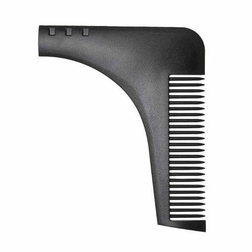 Imagen de plantilla de ajuste de barba