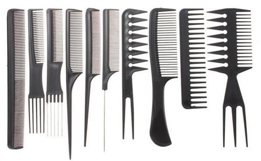 Imagen de Juego de Peines para cabello Profesional