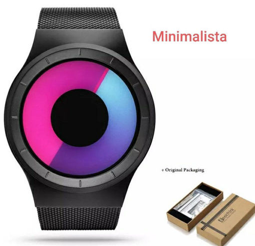 Imagen de Reloj con estilo minimalista sin agujas