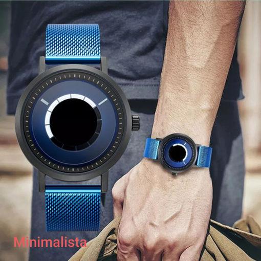 Imagen de Reloj minimalista con aro giratorio