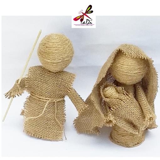 Imagen de Nacimiento Artesanal de Dos piezas