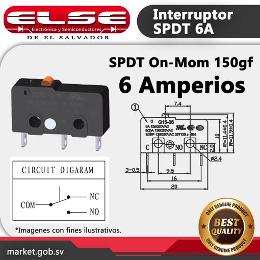 Interruptor 6A