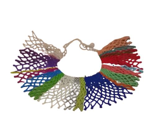 Imagen de Collar Círculo Multicolor