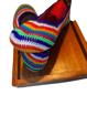 Imagen de Zapatilla estilo croché multicolor