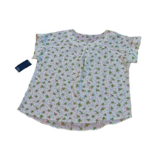 Imagen de Blusa Casual holgada con flores