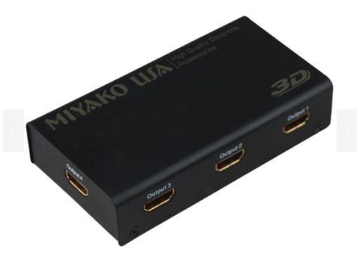Imagen de Spitter HDMI 1X4 1080P 3D