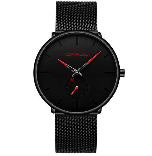 Imagen de Reloj formal de acero inoxidable para hombre