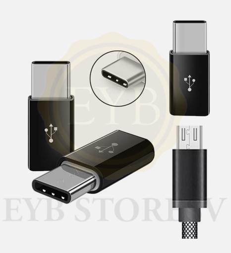 Imagen de Adaptador de datos micro USB a USB 3.1 tipo C